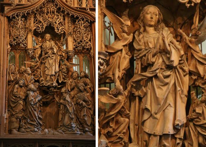 Тильман Рименшнайдер, алтарь церкви святой Марии.